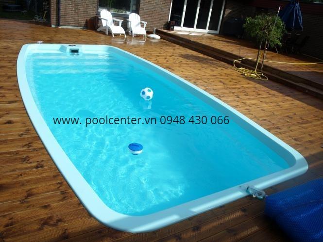 bể bơi composite đúc sẳn